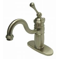 Satin Nickel Victorian Centerset Faucet