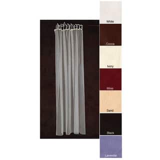 Sheer Netting Tab Top 87-inch Curtain Panel Pair|https://ak1.ostkcdn.com/images/products/1893635/P10220601.jpg?impolicy=medium