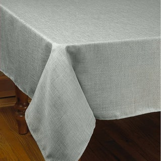 Violet Linen Euro Linen Stain Free Tablecloth - Assorted Colors