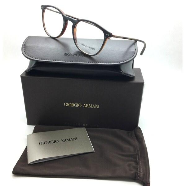 Shop Giorgio Armani New Authentic Brown Male Eyeglasses AR 7125 5569 ...
