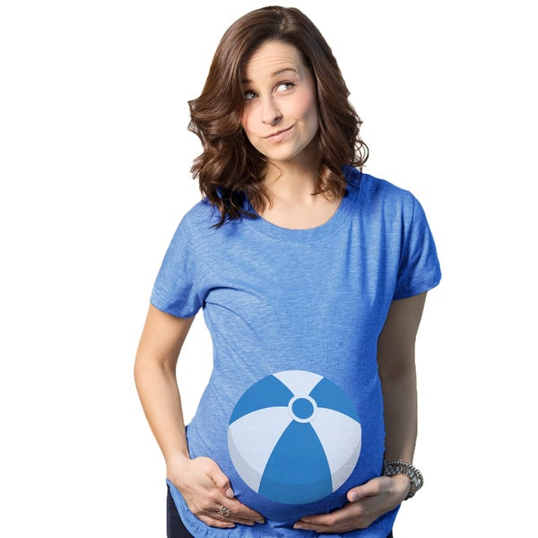 76847a6f6297d Shop Maternity Beach Ball Tee - Free Shipping On Orders Over $45 -  Overstock - 18945980