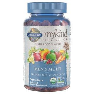 Garden of Life mykind Organics Mens Multi Gummies (120 Count)
