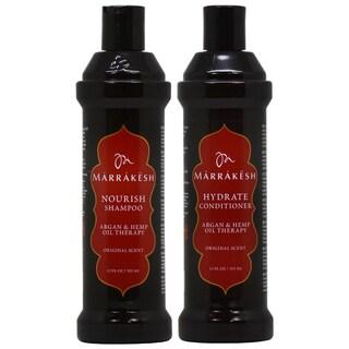 Marrakesh Original 12-ounce Shampoo & Conditioner