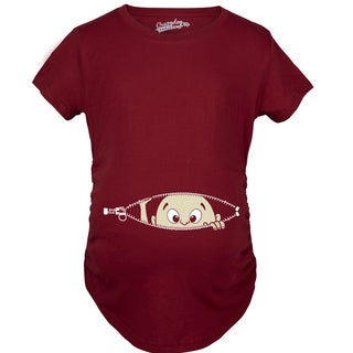 Maternity Baby Peeking Pregnancy T-shirt