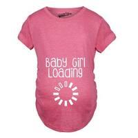 Maternity Baby Girl Loading T-shirt
