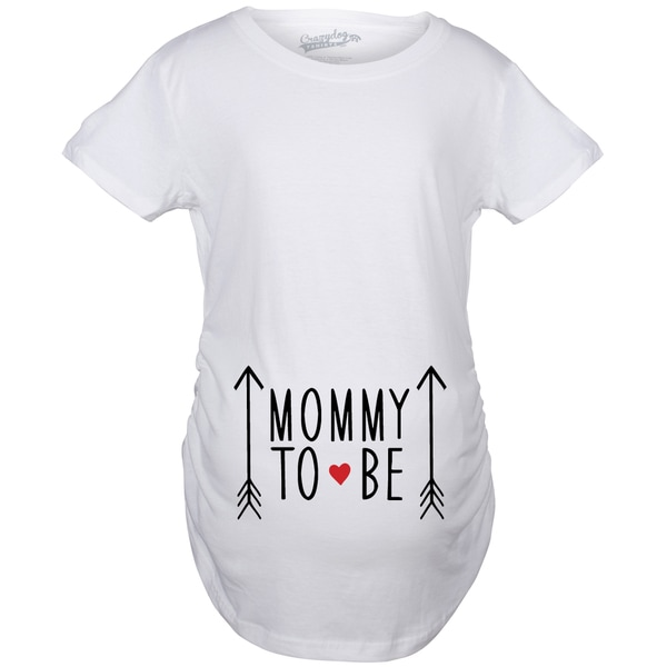 c972d8fd9c101 Shop Maternity Mommy To Be Pregnancy Announcement T-shirt - Free Shipping  On Orders Over $45 - Overstock - 18946326
