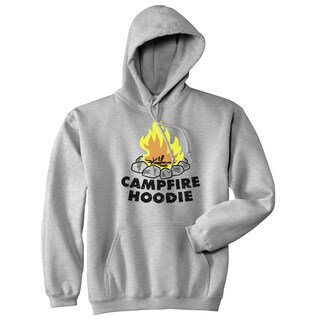 Campfire Hoodie Funny Firewood Summertime Camping Outdoor Hooded Sweatshirt