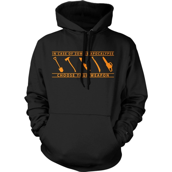 ef69141c Shop In Case of Zombie Apocalypse Choose Your Weapon Hoodie Funny Undead  Sweatshirt - On Sale - Free Shipping On Orders Over $45 - Overstock -  18946472