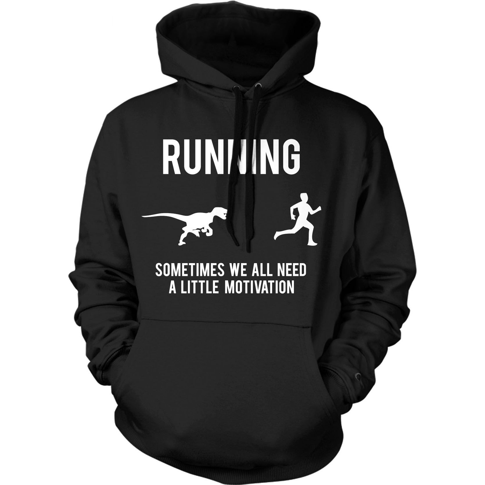 Crazy Dog Running Motivation Sweater Funny Running T shir...