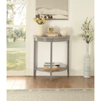 ACME Joey Console Table in Gray Oak and Gray