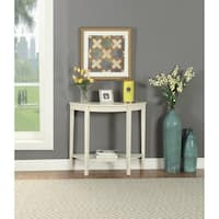 ACME Matilde Console Table in Antique White