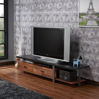 Acme Elling Black Walnut TV Stand