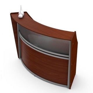 Reception Desk W/ Polycarbonate