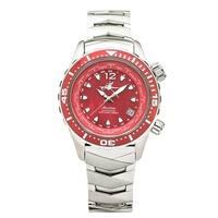 Abingdon Co. Marina Reef Red Automatic Titanium Dive Watch