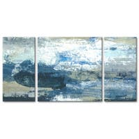 Norman Wyatt Home Ice Water Quench 3 PC Triptych Wall Art by Norman Wyatt Home
