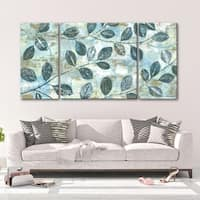 Autumn Frost 3 PC Triptych Wall Art by Norman Wyatt Home