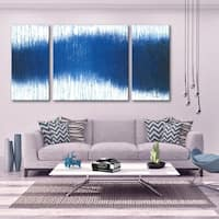 Whale Song 3 PC 30x60 Triptych Wall Art by Norman Wyatt Home