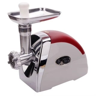 Home Multifunctional Electric Sausage Maker Meat Grinder Red