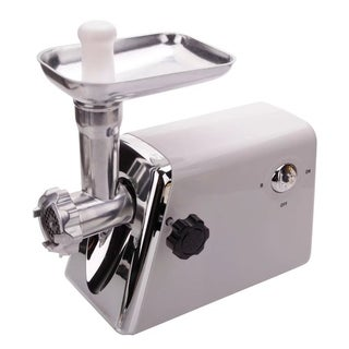 Domestic Multifunctional Electric Sausage Maker Meat Grinder White