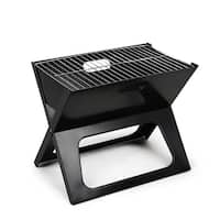 Portable Mini Grill Black