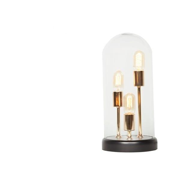 CDI Furniture Capsule Collection 1-Glass Metal Table Lamp, Medium