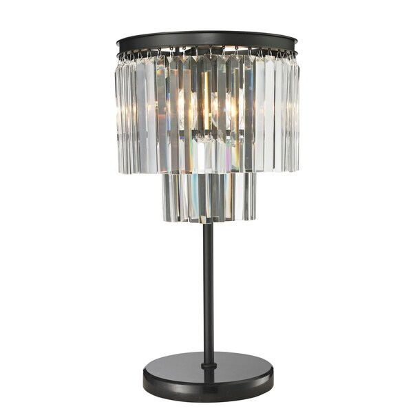 Shop Cdi Furniture Victoria Collection Black Finish Egyptian Crystal