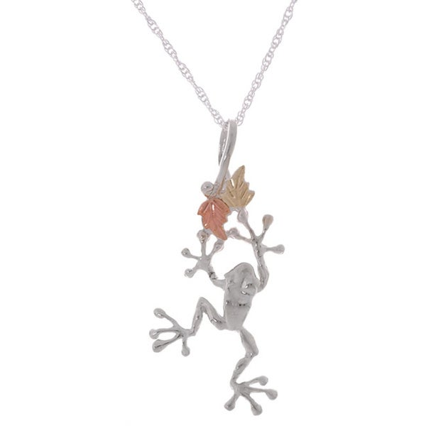 products gold necklace animal chain dangling realistic on a jewelry dotoly in frog pendant