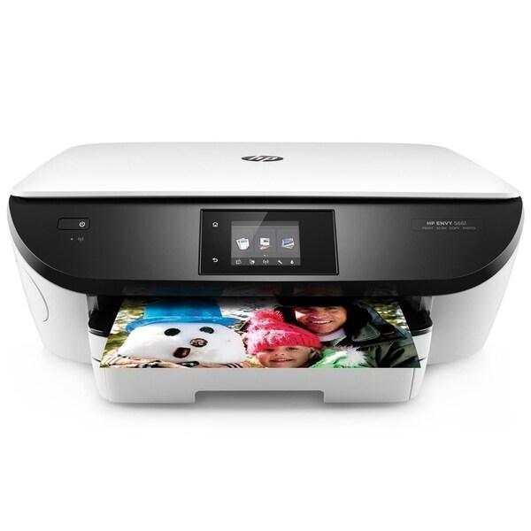 Shop Refurbished Hp Envy 5661 Wifi E All In One Printer White