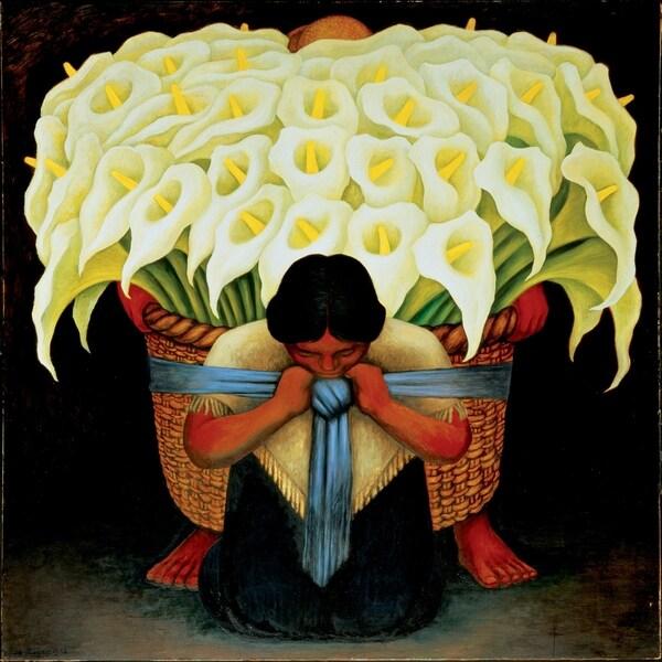 Shop Portfolio Canvas Decor \'El Vendedor de Alcatraces\' Canvas Wall ...