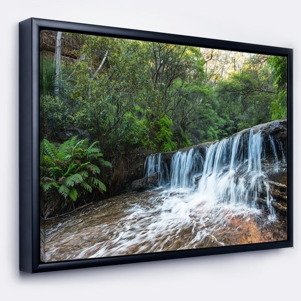 Shop Designart Beautiful Waterfall In New Australia