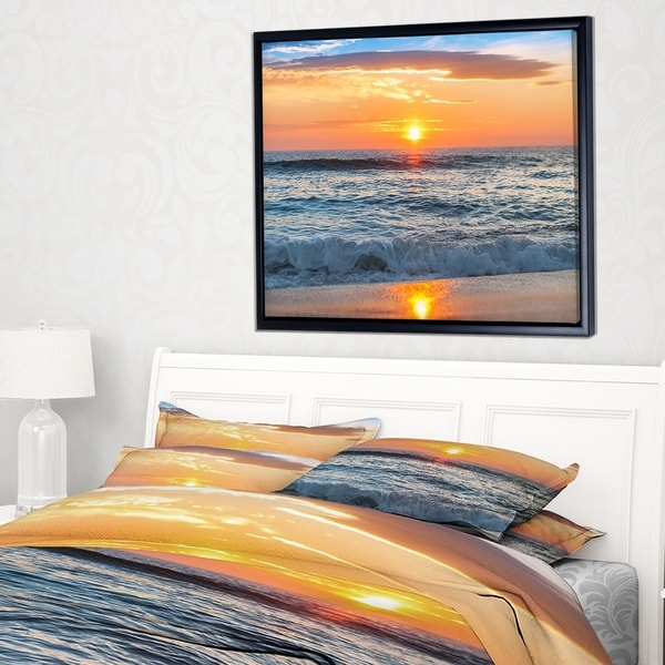 Designart X27 Beautiful Sunrise Over The Horizon Modern