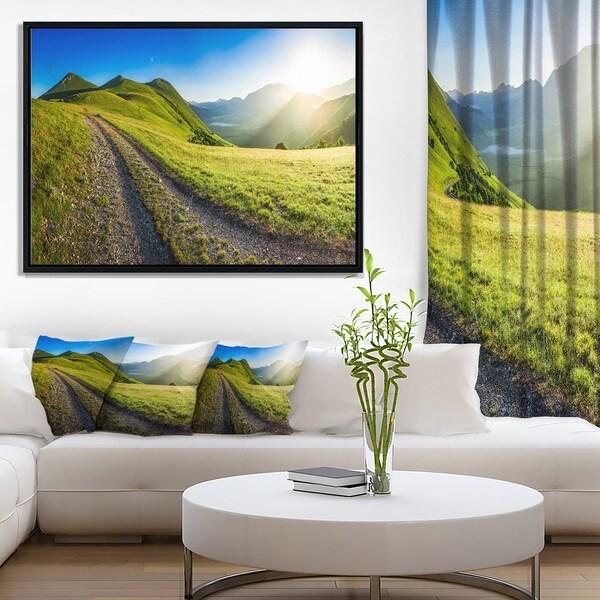Designart 'Discontinued product' Landscape Framed Canvas Art Print