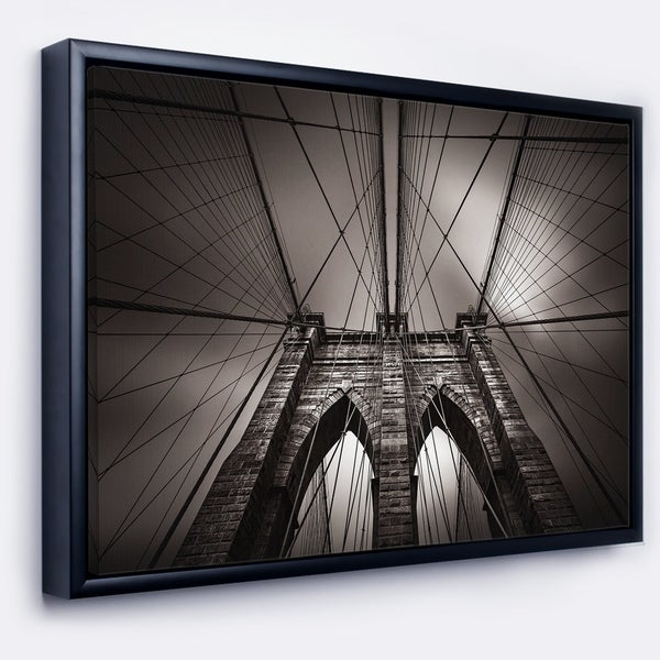 Shop Designart Brooklyn Bridge In Nyc Usa Extra Large