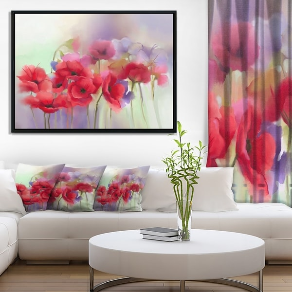 LARGE DARK RED ROSE FLORAL CANVAS PICTURE WALL ART A1