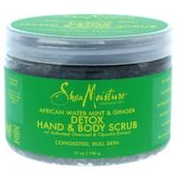 SheaMoisture 12-ounce African Water Mint & Ginger Detox Hand & Body Scrub