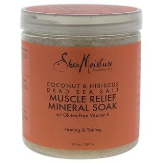 Shea Moisture 20-ounce Coconut & Hibiscus Dead Sea Salt Muscle Relief Mineral Soak