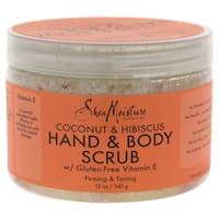 Shea Moisture 12-ounce Coconut & Hibiscus Hand & Body Scrub