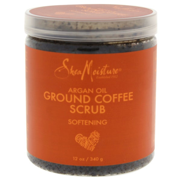 SheaMoisture 12-ounce Argan Oil Coffee Scrub