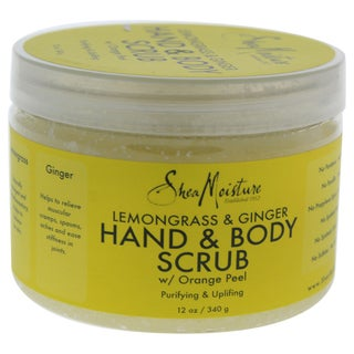 Shea Moisture 12-ounce Lemongrass & Ginger Body Scrub