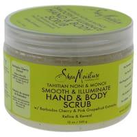 Shea Moisture 12-ounce Tahitian Noni & Monoi Dead Sea Salt Smooth & Illuminate Hand & Body Scrub