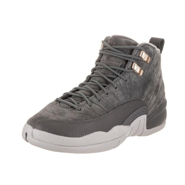 Shop Nike Jordan Kids Air Jordan 12