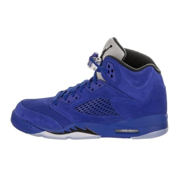 on sale e3eb8 57a4a Shop Nike Jordan Kids Air Jordan 5 Retro BG Basketball Shoe ...