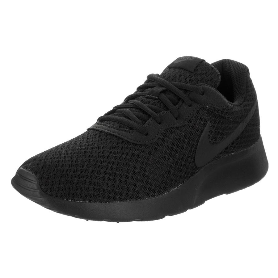 Nike Men's Tanjun Running Shoe (11.5), Black (Synthetic L...