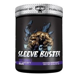 Iron Addicts Sleeve Buster Grape (30 Servings)