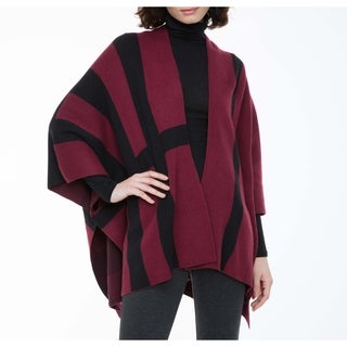 Sioni Women's Poncho with Buttons at Sides