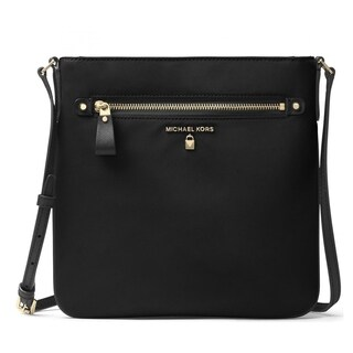 MICHAEL Michael Kors Nylon Kelsey Large Crossbody Black