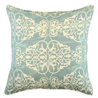 Ashley Spa Blue Damask Pillow