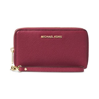 MICHAEL Michael Kors Mercer Multi Function Phone Case Mulberry