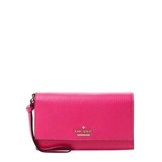 Kate Spade New York Jackson Street Malorie Wristlet Peony Pink