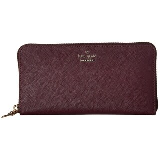 Kate Spade New York 'cameron street - lacey' leather wallet Deep Plum